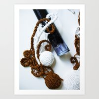 Romanian Point Lace And … Art Print