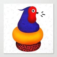 Jumpin' Joe Bird Canvas Print