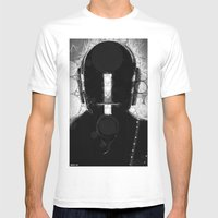 duft_punk_1 Mens Fitted Tee White SMALL