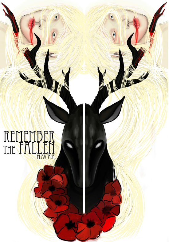 Remember the fallen Art Print