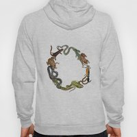 Reptile Wreath Hoody