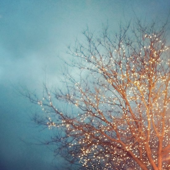 December Lights Art Print