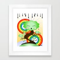 Reborn by NREAZON Framed Art Print