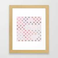 Pastel Fun Framed Art Print