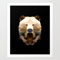 Polygon Heroes - The Lord Commander Art Print