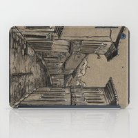 Old Village Alley iPad Case