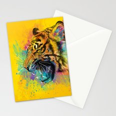 Angry Tiger Stationery Cards