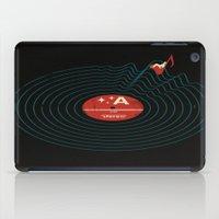 Soundwaves iPad Case