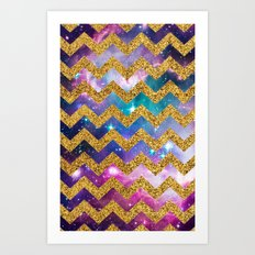 GLITTER SPACE 9 - for iphone Art Print