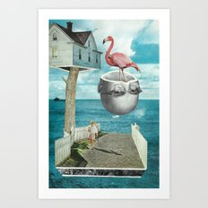 Magic Treehouse Art Print