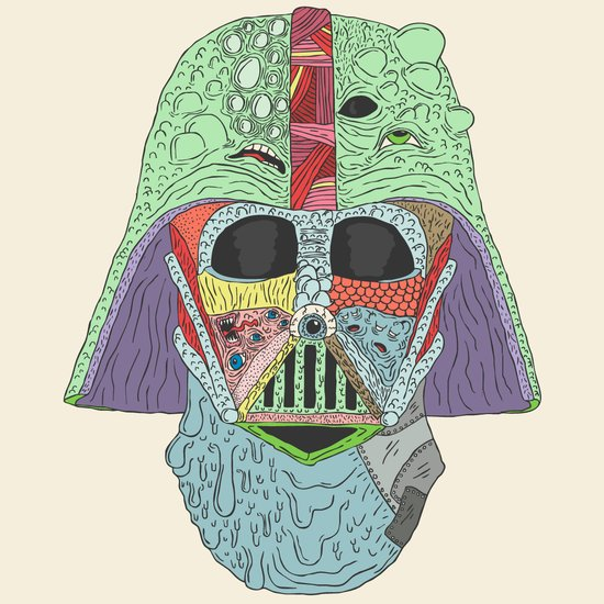 Goreth Vader Art Print