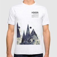 Wandering Star Mens Fitted Tee Ash Grey SMALL