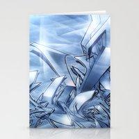 Mystique Blue Stationery Cards