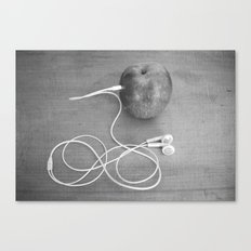 Wrong Apple Canvas Print