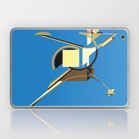 Space Ship Laptop & iPad Skin