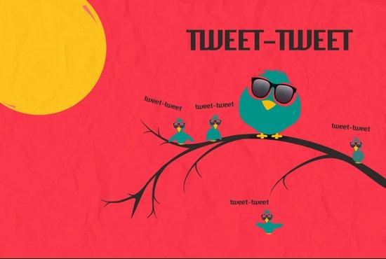 tweet-tweet, TWEET-TWEET Canvas Print