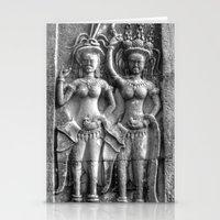 Cambodian Erotic Goddesses Stationery Cards