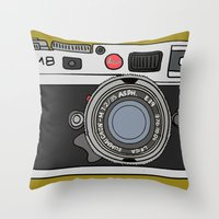 Camera, 2 Throw Pillow