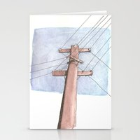 In a Network of Lines that Intersect Stationery Cards