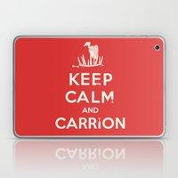 Keep calm and carrion Laptop & iPad Skin