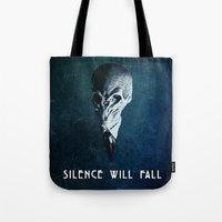 Doctor Who: The Silence Tote Bag