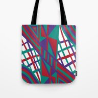 Purple Infusion Tote Bag