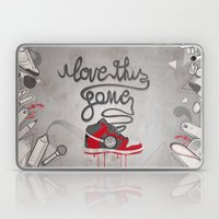 I Love This Game Laptop & iPad Skin