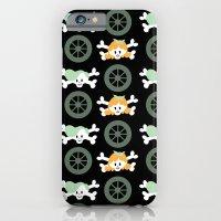 iPhone & iPod Case featuring Teen skulls by Laura Gómez