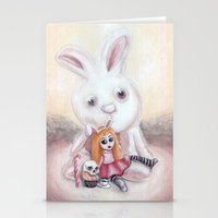 Ester and Bunny Stationery Cards