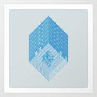Wolfson Axonometric. Art Print