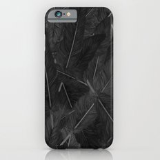 Feathered (Black). iPhone 6 Slim Case