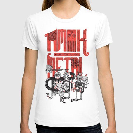 Amok and Totally Metal T-shirt