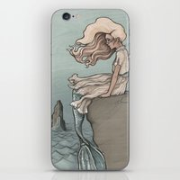 Evolution of a Mermaid iPhone & iPod Skin