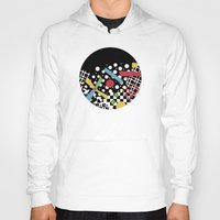 Ticker Tape Geometric Hoody
