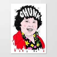 'Chunk' Canvas Print