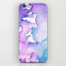 blue wash iPhone & iPod Skin