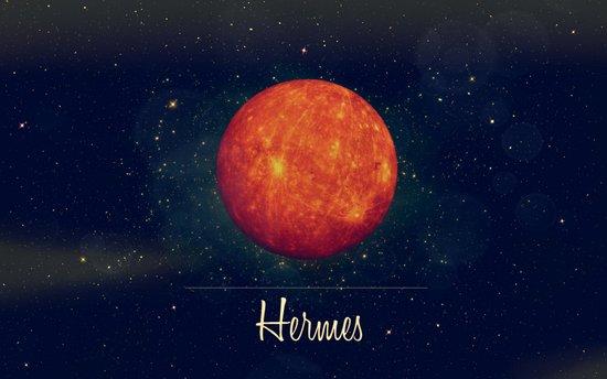 Hermes / Mercure Art Print