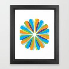 Color Fusion Framed Art Print