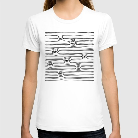 PEEPING TOM [BLK & WHT] T-shirt