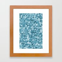 Chilled Ice Framed Art Print