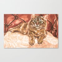 King Kona the Cat Canvas Print