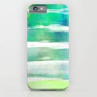 waves - turquoise iPhone 6 Slim Case