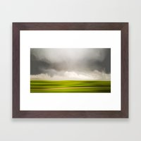 Stormy May Day Framed Art Print