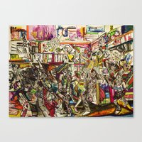 Coogi Sweater Party Canvas Print