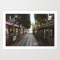 San Francisco, Autumn 20… Art Print
