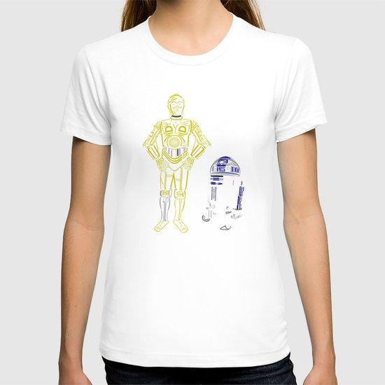 C3TYPO and R2TYPO T-shirt