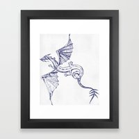 A Dragon's Tale Framed Art Print