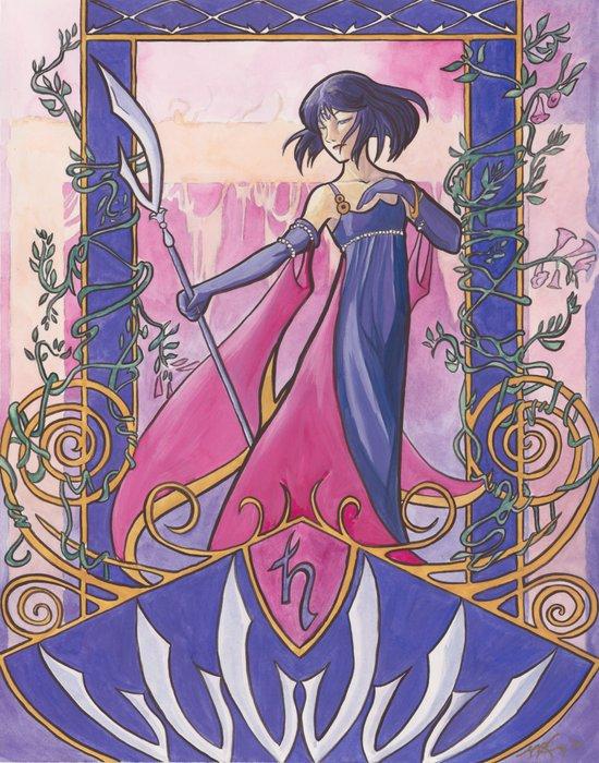 Princess Saturn Art Print