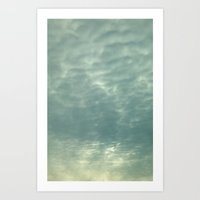 Amazing Clouds Art Print
