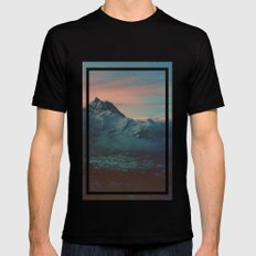 Garden Mens Fitted Tee Black SMALL